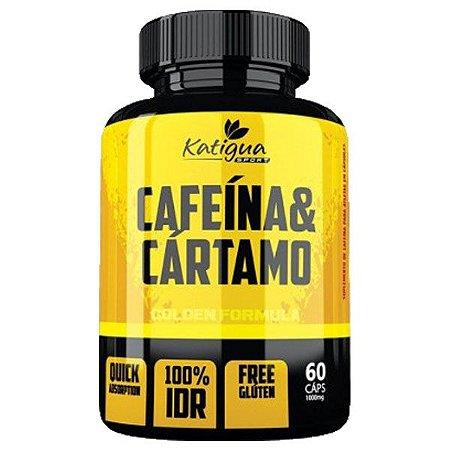 Cafeína Com Óleo De Cártamo Katigua Sport 60 Cápsulas