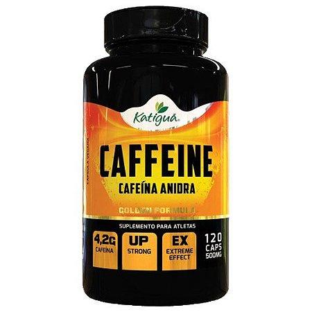 Caffeine (Cafeína Anidra) - 120 Cápsulas - Katigua Sport
