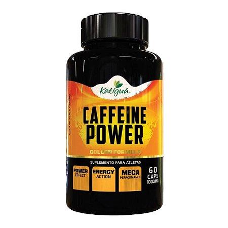 Caffeine Power (Cafeína) - 60 Cápsulas - Katigua Sport