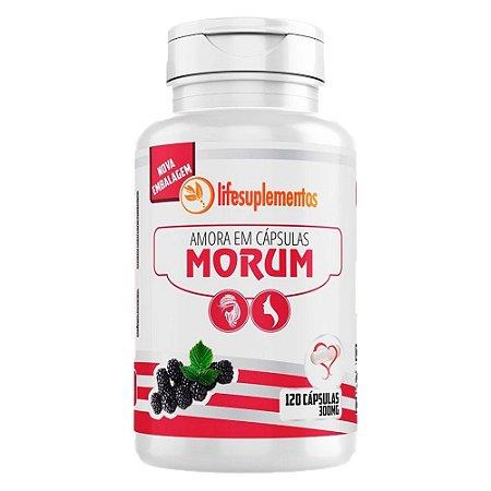 Morum Amora Miúra - 120 Cápsulas - Melcoprol