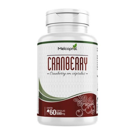 Cranberry - 60 Cápsulas - Melcoprol