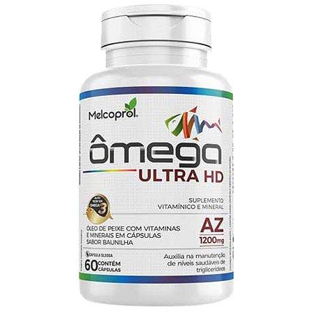 Polivitamínico Ômega 3 Ultra HD Melcoprol 60 Cápsulas