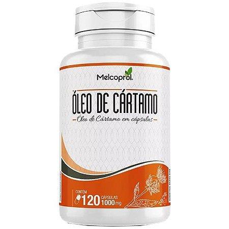 Óleo de Cártamo - 120 Cápsulas - Melcoprol