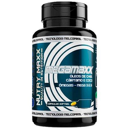 Mega Maxx Chia Cart Coco - 60 Cápsulas - Melcoprol