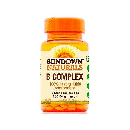 Complexo B Sundown Vitamina B12 100 Comprimidos