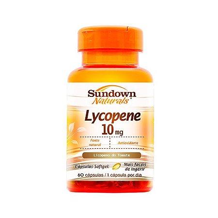 Lycopene Licopeno de Tomate - 60 cápsulas - Sundown