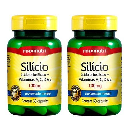 Silício - 60 cápsulas - Maxinutri