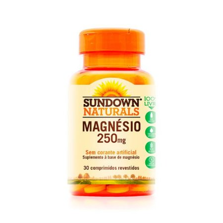 Magnésio 250mg - 30 Comprimidos - Sundown