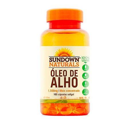 Óleo de Alho - 100 Cápsulas - Sundown