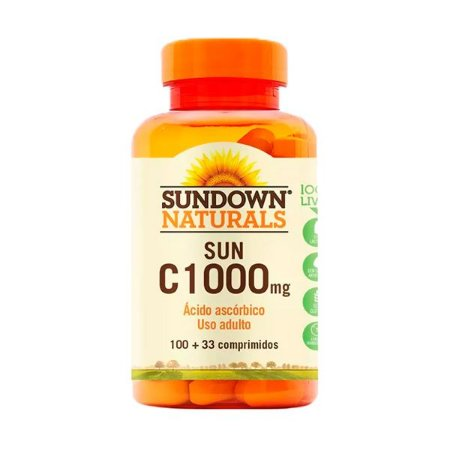 Vitamina C 1000mg - 100 Comprimidos - Sundown