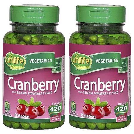Cranberry - 2 unidades de 120 cápsulas - Unilife