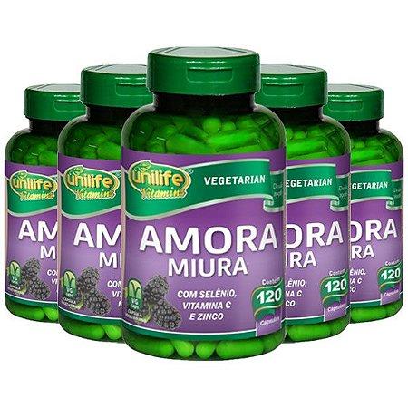 Amora Miura - 5 unidades de 120 Cápsulas - Unilife