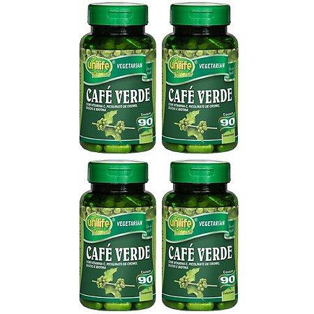 Kit Café Verde Em Cápsulas Unilife Vitamina C 360 Cáps