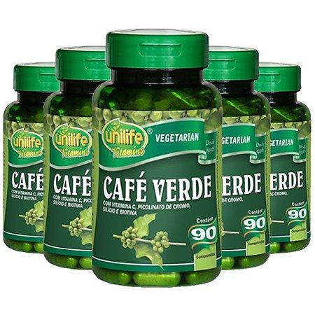 Kit Café Verde Em Cápsulas Unilife Vitamina C 450 Cáps