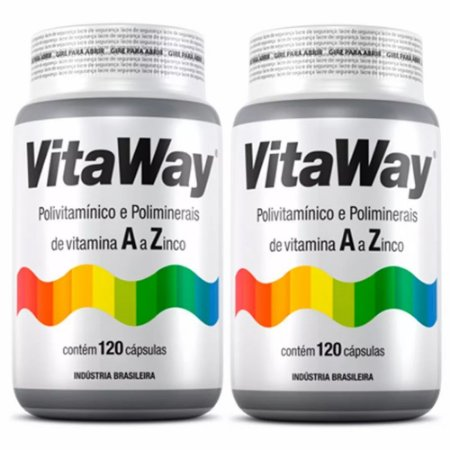 Vitaway A Z - 2x120 cápsulas - Fitoway
