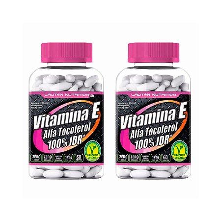 Vitamina E (Alfa Tocoferol) - 2x 60 Tabletes - Lauton