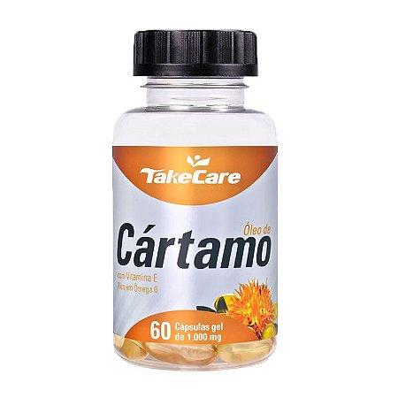 Óleo de Cártamo com Vitamina E - 60 Cápsulas - Take Care