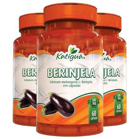 Berinjela - 3 unidades de 60 Cápsulas - Katigua