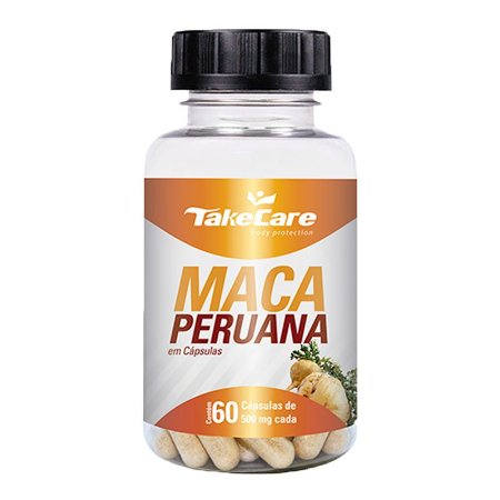 Maca Peruana - 60 Cápsulas - Take Care