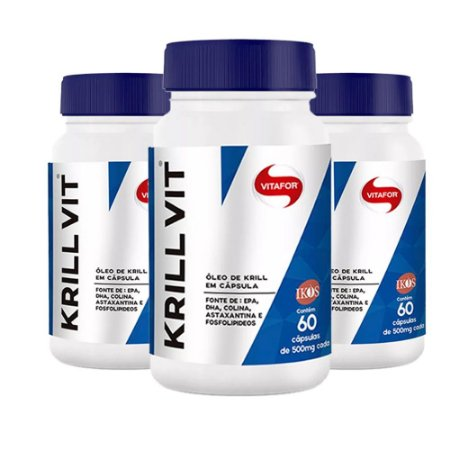 Krill Vit - 3x 60 cápsulas - Vitafor