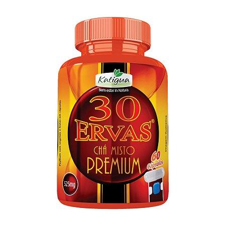 Chá 30 Ervas Premium - 60 cápsulas - Katigua