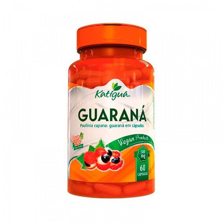 Guaraná - 60 Cápsulas - Katigua