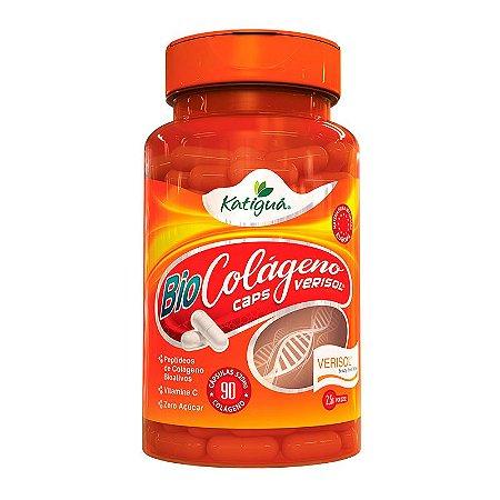 Colágeno Verisol com Vitamina C - 90 Cápsulas - Katigua