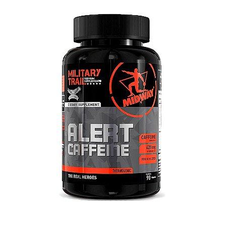 Cafeína Alert Caffeine - 90 Cápsulas - Midway Military Trail