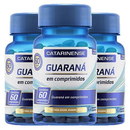 Guaraná - 3 unidades de 60 cápsulas - Catarinense