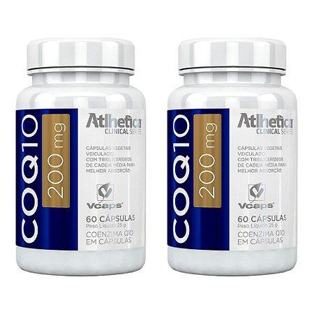 Coenzima Q10 200mg - 2 unidades de 60 cápsulas - Atlhetica