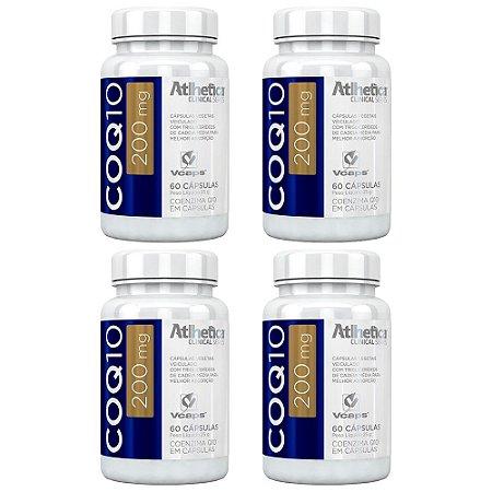 Coenzima Q10 200mg - 4 unidades de 60 cápsulas - Atlhetica