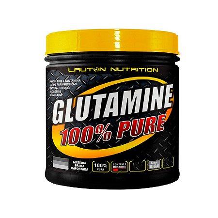 Glutamine Powder 100% Pure - 300 Gramas - Lauton
