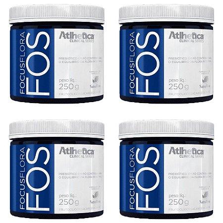 Focus Flora FOS - 4 unidades de 250 Gramas - Atlhetica