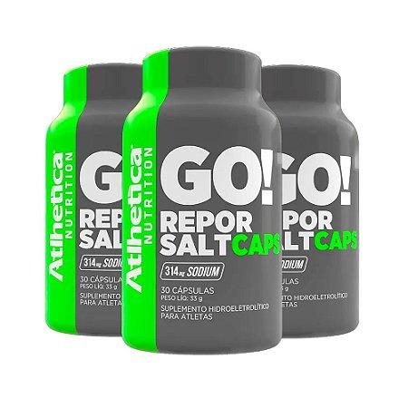Repor Salt - 3 unidades de 30 Cápsulas - Atlhetica