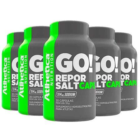 Repor Salt - 5 unidades de 30 Cápsulas - Atlhetica