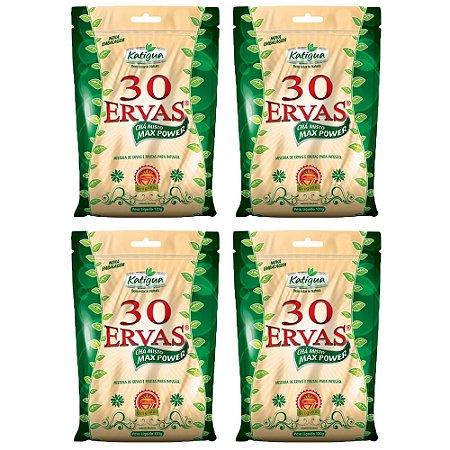 Chá misto 30 Ervas - 4 unidades de 120 Gramas - Katigua