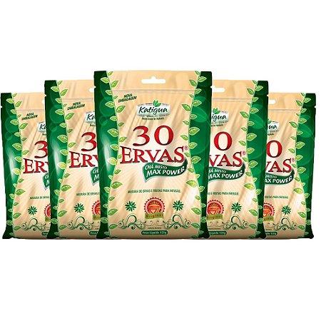 Chá misto 30 Ervas - 5 unidades de 120 Gramas - Katigua