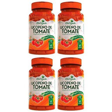 Licopeno de tomate - 4 unidades de 60 Cápsulas - Katigua