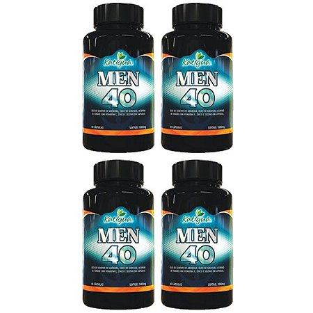Kit Men 40 Katigua Composto Antioxidante Suplemento 240 Cáps