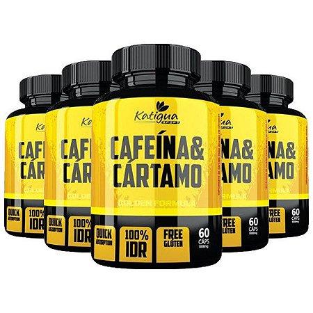 Kit Cafeína Com Óleo De Cártamo Katigua Sport 300 Cápsulas