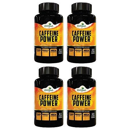 Kit Cápsulas De Cafeína Com Açaí Power Katigua 480 Cáps