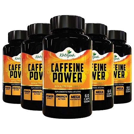 Kit Cápsulas De Cafeína Com Açaí Power Katigua 600 Cáps