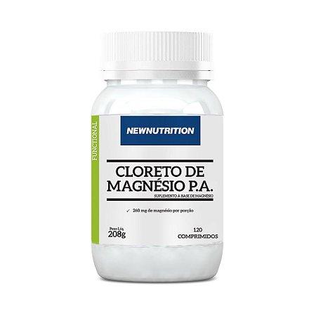 Cloreto de Magnésio P.A. NewNutrition 120 Comprimidos