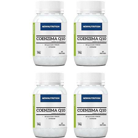 Coenzima Q10 100mg - 4 unidades de 60 Cápsulas - NewNutrition
