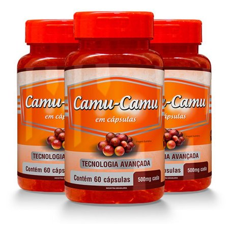 Camu-Camu - 3 unidades de 60 Cápsulas - Promel