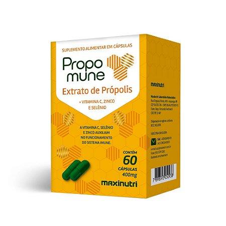Propomune Extrato De Própolis Maxinutri 60 Cápsulas