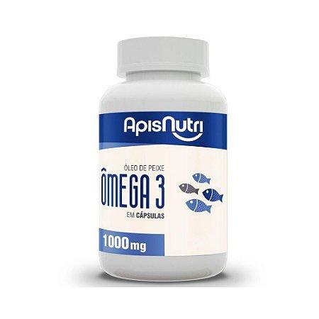 Óleo de Peixe Ômega 3 - 60 Cápsulas - Apisnutri