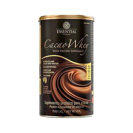 Cacao Whey - 450 Gramas - Essential