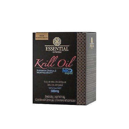 Krill Oil Ômega 3 e Astaxantina - 60 Cápsulas - Essential
