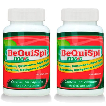 Emagrecedor Bequispi Mais - 2 unidades de 60 Cápsulas - Promel
